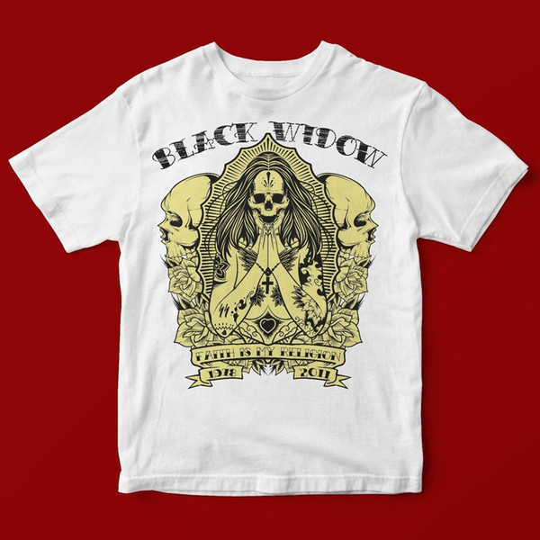 Black Widow T Shirt Unisex 1271 Cool Tee Shirts Designs Web T Shirts From Linnan005 14 67 Dhgate Com
