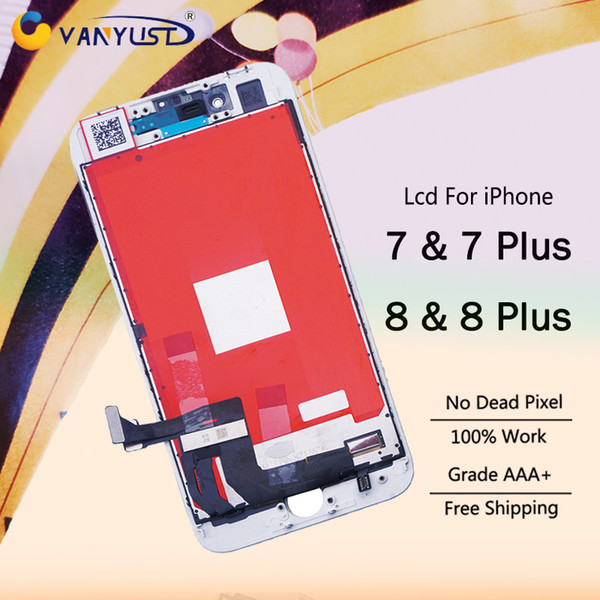 VANYUST Grade AAA LCD Replacement For iPhone 7 7 plus 8 8 plus + 12 months warranty + free DHL shipping