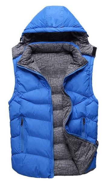 Mens Casual Beyaz Ördek Aşağı Yelek Kalın Ceket Kadın Sonbahar Kış Aktif Fermuar Kolsuz Aşağı Ceket Mens Kadınlar Tops Giyim