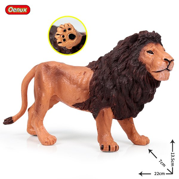 wholesale Wild Africa Lions Simulation White Lion Action Figures Beast Animals Pvc High Quality Learning Collection Toy For Kid Gift