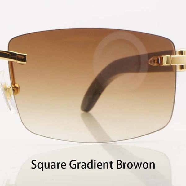 Square GradientBrown