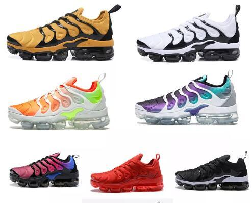 check out da843 09ab0 Sunset Total Orange Tiger Vapormax Plus Tn Running Shoes Grape Aqua White  Fierce Purple Tn Atmos Athletic Sports Trainers Hyper Sneakers Toddler Boys  ...