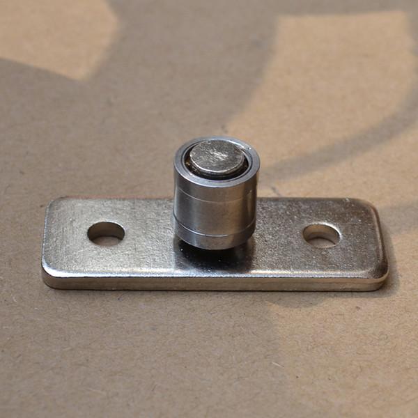 6 pieces wood door roller sliding door bearing locator hanging pulley stopper director shaft hardware fitting Damper Guide Shaft
