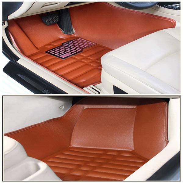 3D Custom Car Floor Mats for Porsche 718 911 Panamera Macan Cayenne Auto Floor Mat Car Accessories Envelope in Half Carpet