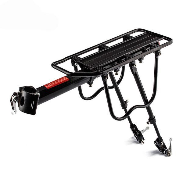 150 kg Kapazität Aluminiumlegierung Fahrrad Gepäckträger Für MTB Radfahren Zubehör Berg / Rennrad Hinteren Rack Inst