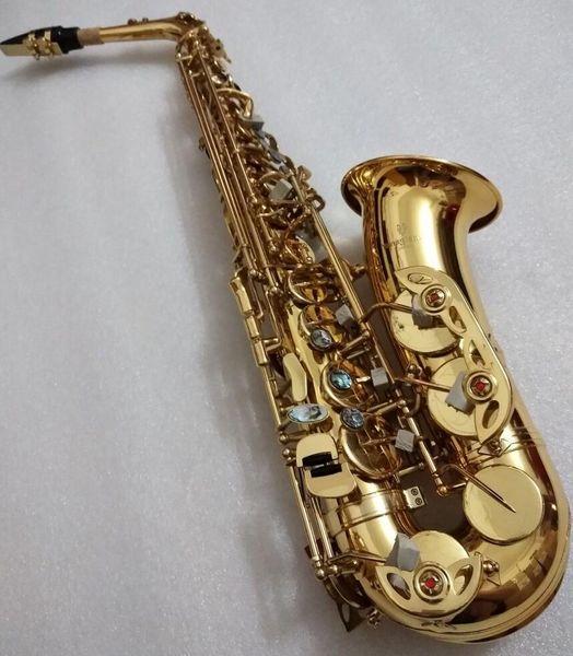 Yeni Japonya YANAGISAWA A-W01 Alto Saksafon E-düz oynayan profesyonel sax enstrüman Yüksek Kaliteli alto sax Ile kılıf