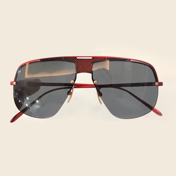Half Rim Sunglasses Women Brand Designer High Quality Alloy Frame Retro Fashion Female Eyewear Vintage Fashion Oculos De Sol