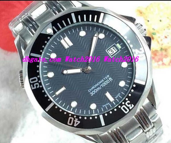 Luxury Watches Stainless Steel Bracelet 2351.80 black 2531.80.00 41mm Mechanical Automatic MAN WATCH Wristwatch