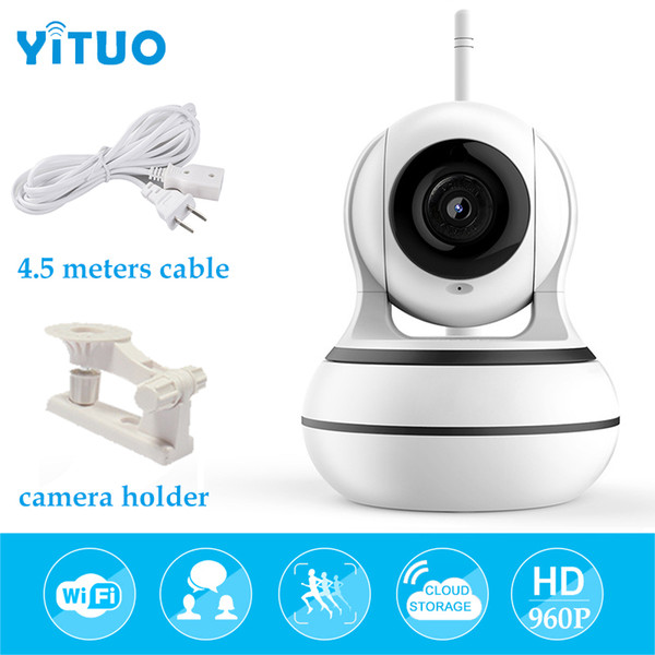 WiFi Camera Wireless Security Camera Pan Tilt Zoom Home Video Monitor eLinkSmart Two Way Audio IP Camera Recording 960P HD Night Vision