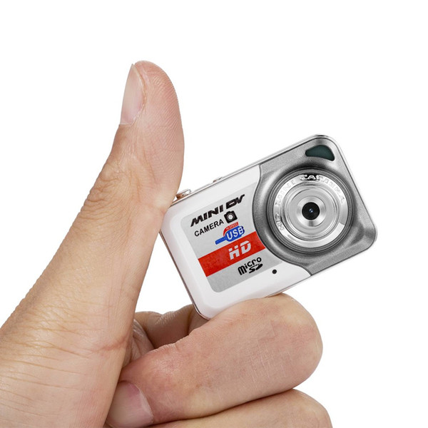Wholesale-HD 1280*1024 Ultra Portable Mini Camera Video Recorder Digital Small Cam Support TF Card Micro Secure Digital Memory Card
