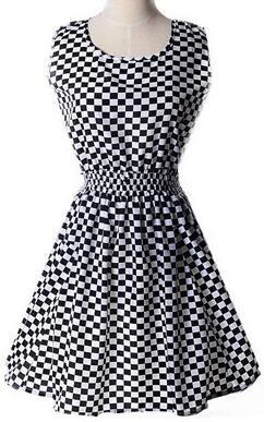 Newest fashion Women Casual Dress Plus Size Cheap China Dress 17 Designs Women Clothing Sleeveless Summe Dress Free Shipping L03