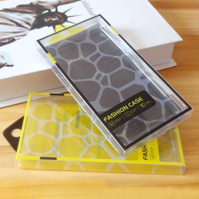 Klares Plastik-PVC-Kleinpaket-Verpackenkasten mit innerer Blase für iPhone 6 6S 7 8 plus Telefon-Kasten Samsung-Galaxie S8 S7 S6 Anmerkung 4 3