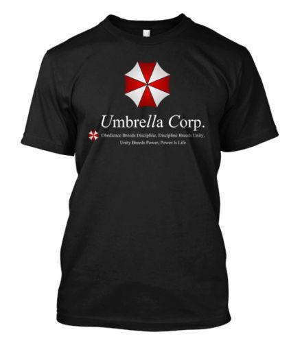 New Resident Evil Umbrella Corporation Logo -Custom Men'S T-Shirt Tee Shirt Men Male Boyfriend Custom Short Sleeve Plus Size Couple Camiseta