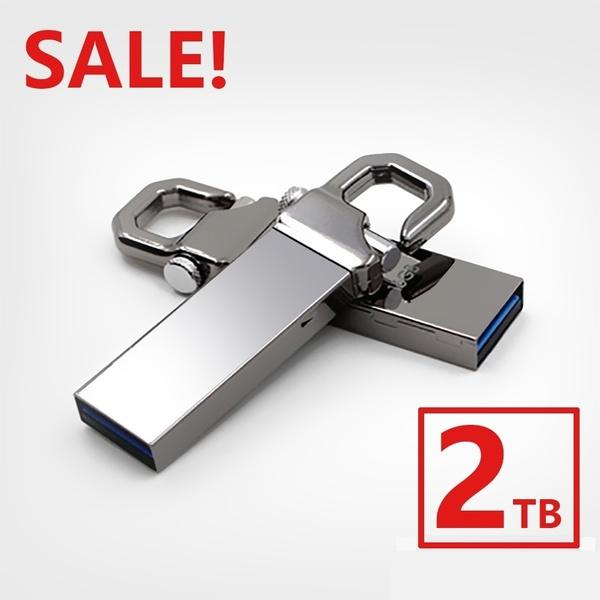 best selling 2TB 50% OFF Flash Drive Memory USB Real Memory USB Stick U Disk Pen Pendrive (Silver Color) free shipping office