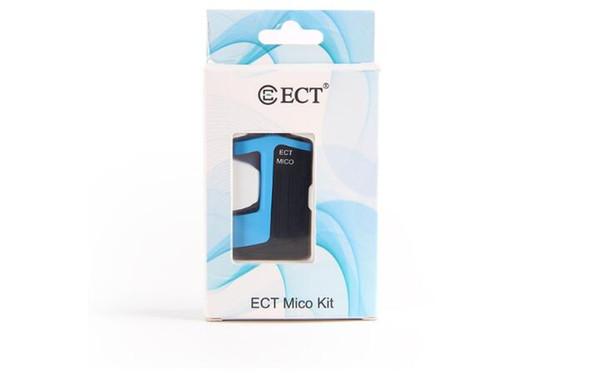 Аутентичные ECT Mico Vape kit 350mah Box Mod 0.5 мл картридж бак испаритель верхней заправки 510 нить iMINI электронные сигареты