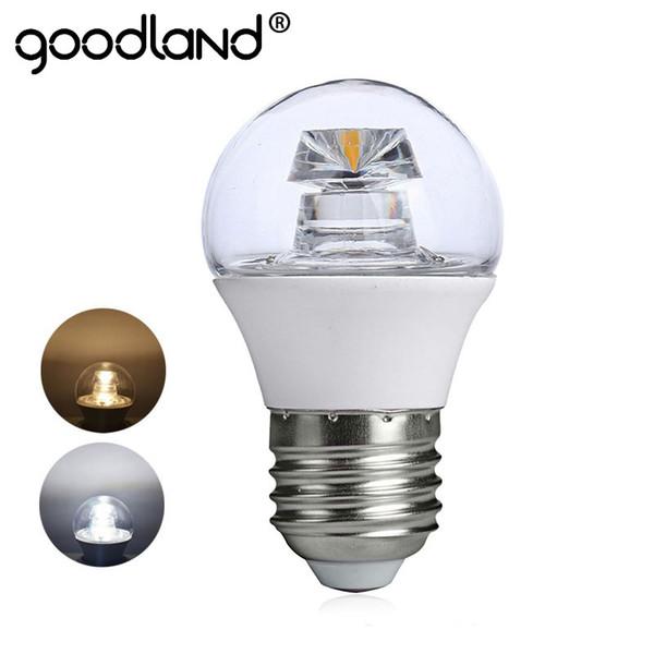 Lampada Led E14 Para Lustre.Compre Goodland Cob Lampada Led Lustre Lampada Led E14 E27 Alta Luminosa De Cristal 110 V 220 V G45 Para Sala De Estar Quarto Iluminacao De Jigsaw