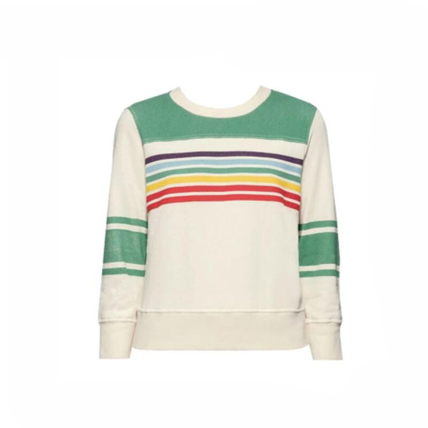 New Autumn Fashion Ins Same Style Sweater For Women Stripe Sweater Pullover For Men Women Free Shipping