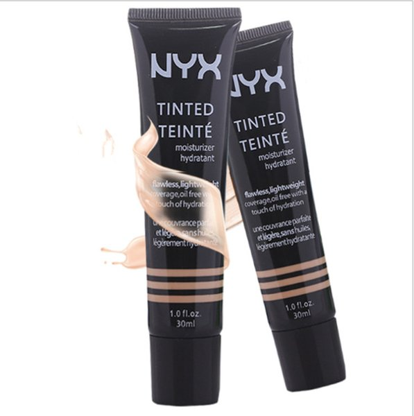 NYX 6 Colors TINTED TEINTE Coutour Pro Concealer Highlighter Makeup Liquid Foundation Face Primer Base 30ml