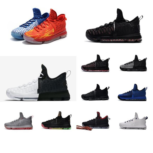 Cheap Mens what the KD 9 IX low basketball shoes Ice Blue Aunt Pearl BHM Easter Olympic Oreo Kevin Durant KD9 sneakers tennis kds for sale