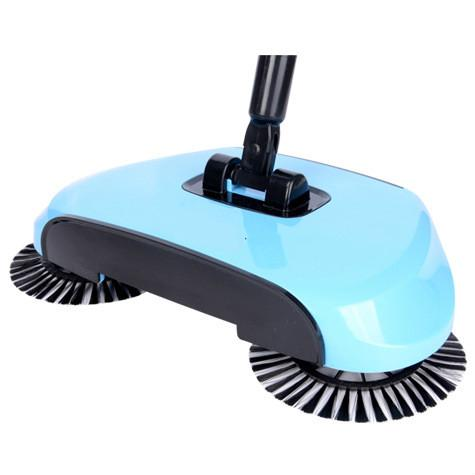 top popular micro-quotient new product gift to paste sweep machine hand push type electricity does not bend waist to combine broom set 2019