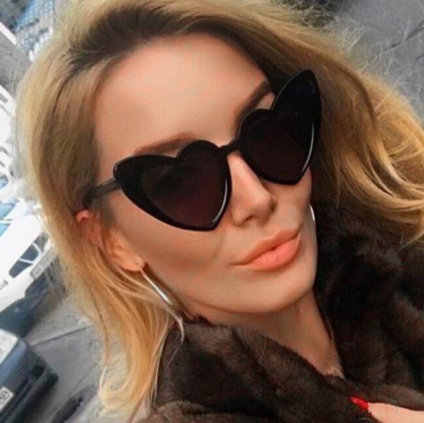 a97678eb5306 2018 Мода Cat Eye Сексуальная солнцезащитные очки Солнцезащитные очки для  женщин Очки Ретро Vintage Cool Солнцезащитные