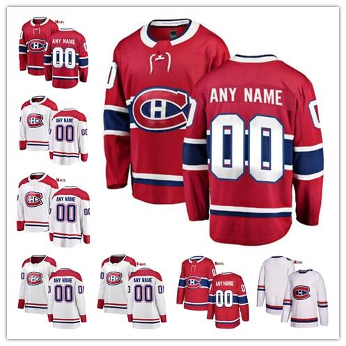 Cu tom montreal canadien jordie benn victor mete phillip danault paul byron any name any number men women youth titched hockey jer ey, Black;red