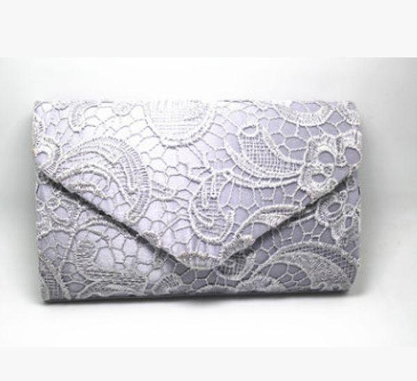 Silver female bag