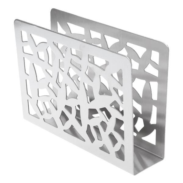 5x3x8 Serviettenhalter 2 cm Hohe Qualität Silber Edelstahl Serviette Box Gewebe