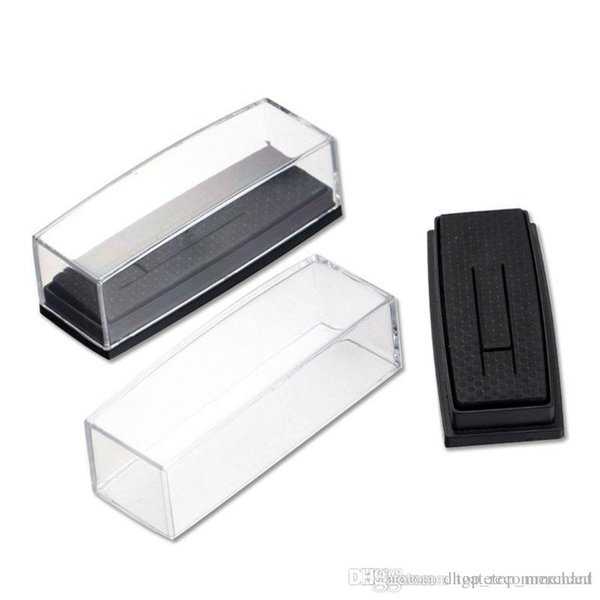 Wholesale Clear Cover Box for Tie Clip Pin Gift Boxes Wedding Engagement Favours Stickpin Display & Packaging Casket