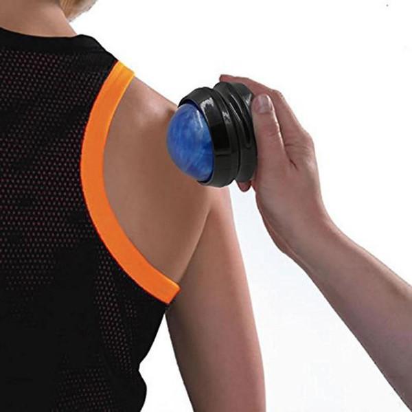 Manuale sfera di massaggio del rullo di massaggio Massaggi Roller sfera corpo Terapia piede posteriore Vita Anca Relaxer Stress Release Rilassamento muscolare