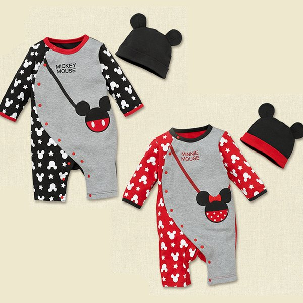 best selling Baby Rompers Spring Baby Boy Clothes Cartoon Baby Girl Clothing Newborn Clothes Roupas Bebe Infant Jumpsuits Kids Costume