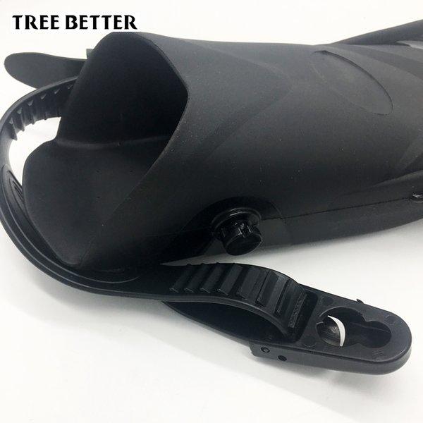 Großhandel Verstellbare Offene Ferse Schwimmflossen Erwachsene Tauchflossen Männer Frauen Tauch Schnorcheln Schuh Tauchflossen Mittlere Länge 37 45