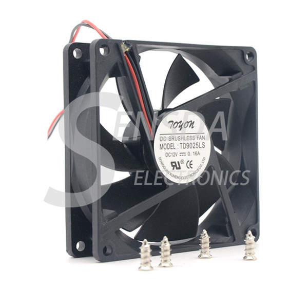 top popular Free Shipping Wholesale GP TD9025LS 9cm 90mm DC 12V 0.16A Hydraulic Bearing server inverter cooling fan 2021