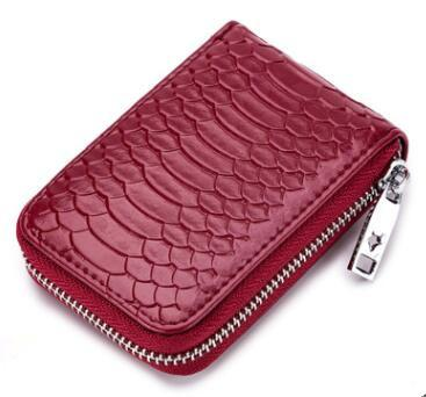 wholesale Genuine Leather Credit Card Holders Female Card Holder Wallet Women Business Cardholder Organizer Men Purse