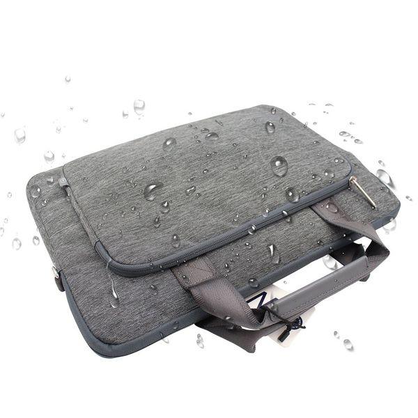 WIWU Laptop Messenger Bag 11 12 13 14 15 17+Free Keyboard Cover for Macbook Nylon Waterproof Laptop Bag for MacBook Pro 13 Case