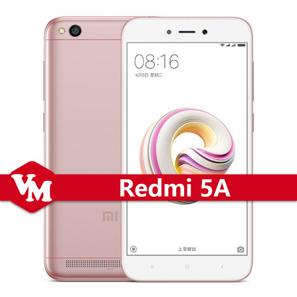 cheap Original Xiaomi Redmi 5A 5 A Cell Phone 5.0inch HD Snapdragon 425 Quad Core 2GB RAM 16GB ROM 3000mAh 13.0MP 4G LTE Mobile Phone