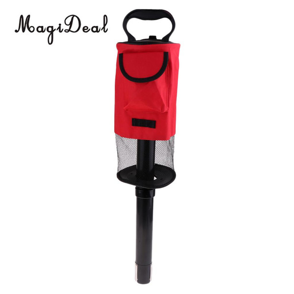 best selling Detachable Golf Shag Bag Tube Golf Accessories Golfer Practice Training Aids Large Holds up tp 65 Balls Collector