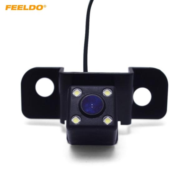 FEELDO Car CCD Backup Rear View Camera For Toyota Crown 08-09 Honda Spirior 2013 Reverse Parking Camera #5154