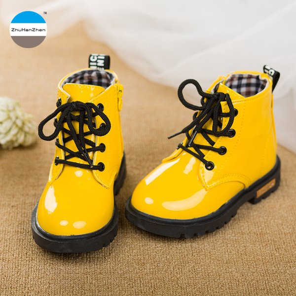 2018 1 to 3 years old baby girls shoes kids fashion boots infant toddlers boots brand high quality children's martin