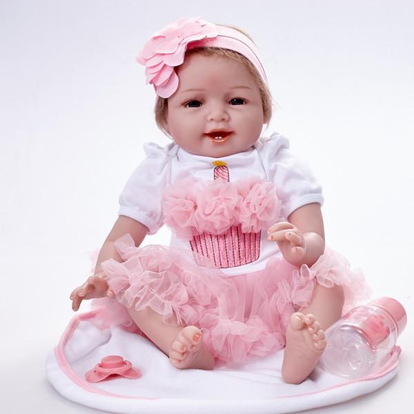 1 Princess Bambola con accessori per Bambini Ragazze Natale Regalo Di Natale Giocattolo
