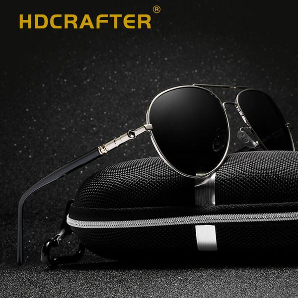 e7ca0a1521 wholesale 2018 pilot sunglasses men polarized uv400 high quality driving  sunglasses polarized man retro vintage sun