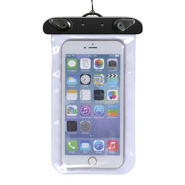 Phone Waterproof Pouch Case For iphone 6 6plus 7 Universal Clear Water Proof Bag Underwater For Samsung S6 S5 Note 4