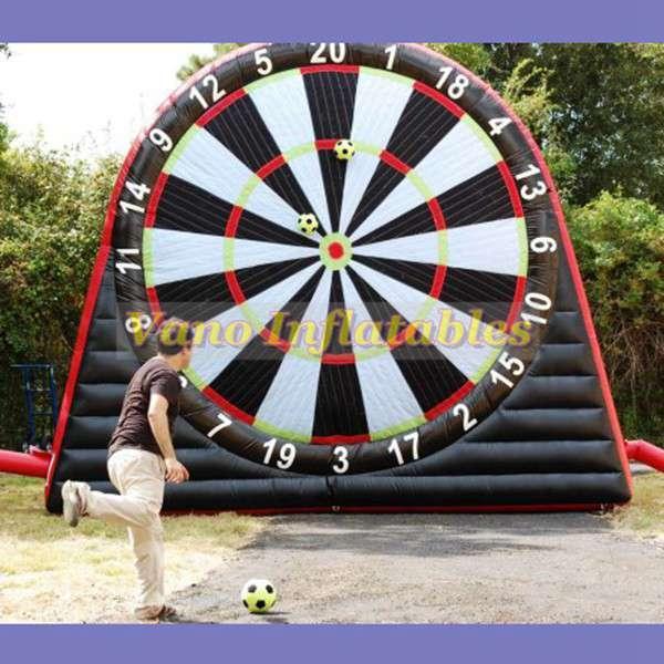 Grosshandel Fussball Darts Spiel Aufblasbare 3m 4m 5m 6m Kommerzielle Aufblasbare Pfeil Fussball Britische Brettspiele Mit Geblase Freiem Verschiffen Von