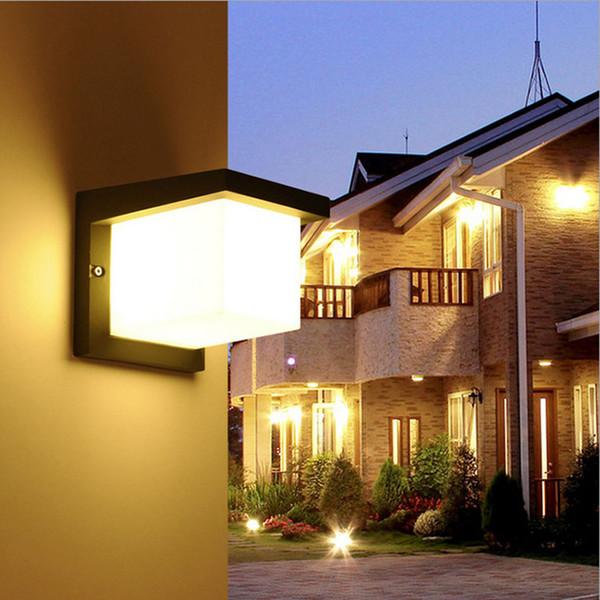Grosshandel Led Gartenbeleuchtung Einfache Licht Moderne Villa Gemeinschaft Zaun Balkon Wasserdichte Led Outdoor Wandleuchte Wcs Owl0044 Von Grege