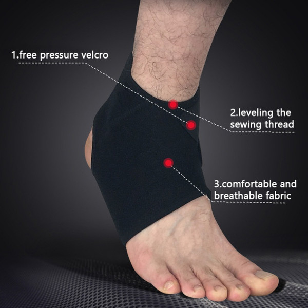 Breathable Sports Ankle Support Pads Kinesiology Compression Ankle Basketball Climbing Guard Sport Accessories