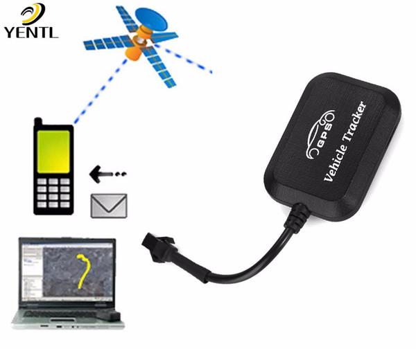 Spedizione gratuita GPS Tracker One Way Remote Engine Avvia allarme moto con Android Iphone preciso in tempo reale Cut Off Oil Locator