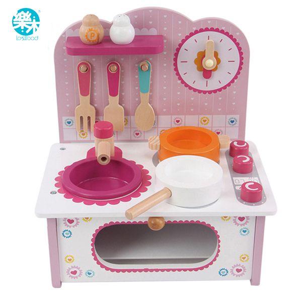 2019 Baby Cooking Toy Kid Cooking Set Wooden Play Kitchen Toy Kitchen For  Children Play Wooden Toy Food Kids Play Kitchen Set Pink From Kareem11, ...