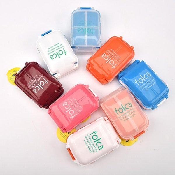 Multi-function Eco-Friendly Plastic Fishing Tackle Box Portable Fishing Lure Hook Rig Bait Storage Case Random Color
