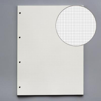 A4 5mm grid 4 holes 45 sheets of paper