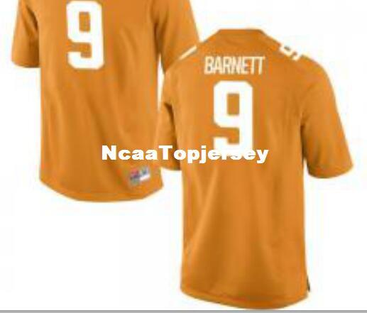 Cheap Men #9 Orange Derek Barnett Tennessee Volunteers Alumni Jersey Stitched Football jerseys